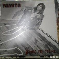 Discos de vinilo: VOMITO -SIEMPRE FUE TERROR-2008 PR-17-EDICION YELLOWPUNK. Lote 295879993