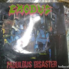 Discos de vinilo: EXODUS- FABULOUS DISASTER-1º EDICION EUROPEA1989-THRAS. Lote 295880638