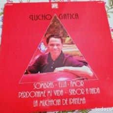 Discos de vinilo: LUCHO GATICA – LUCHO GATICA SELLO: CAUDAL – CAU-424 FORMATO: VINYL, LP, ,NUEVO. MINT / VG++. Lote 295881258