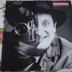 Discos de vinilo: ORQUESTA MONDRAGÓN – UNA SONRISA, POR FAVOR.1989.EMI – 076 7925791 (LP), NUEVO. MINT / MINT. Lote 295882273