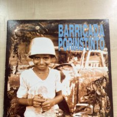 Discos de vinilo: BARRICADA PORINSTINTO. Lote 295885813