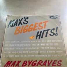 Discos de vinilo: MAX'S BIGGEST HITS. Lote 295885953