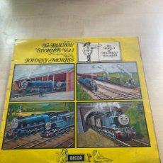 Discos de vinilo: THE RAILWAY STORIES JOHNNY MORRIS. Lote 295886063