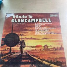 Discos de vinilo: TRIBUTE TO GLEN CAMPBELL. Lote 295886148