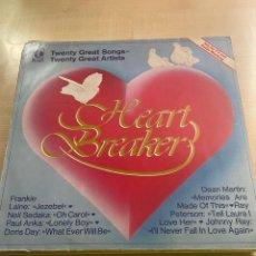 Discos de vinilo: HEART BREAKER. Lote 295886193