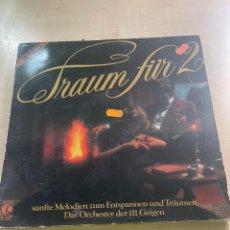 Discos de vinilo: TRAUM FÜR2. Lote 295886463