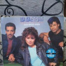 Discos de vinilo: LISA LISA AND CULT JAM* – HEAD TO TOE. Lote 295906288