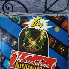 Discos de vinilo: THE SENSATIONAL ALEX HARVEY BAND – LIVE. Lote 295907193