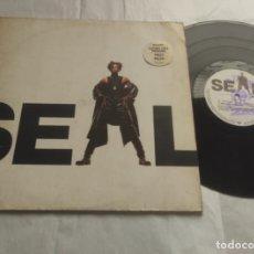 Discos de vinilo: SEAL – SEAL-LP-EUROPA-1991- ZTT – 9031-74557-1, ZTT – ZTT9. Lote 295907633