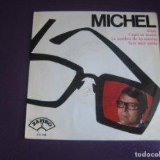 Discos de vinilo: MICHEL – ALINE +3 - EP ZAFIRO 1965 - MELODICA POP 60'S 70'S - LEVE USO. Lote 295907688