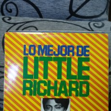 Discos de vinilo: LITTLE RICHARD – LO MEJOR DE LITTLE RICHARD. Lote 295909768