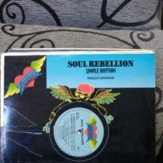 Discos de vinilo: SOUL REBELLION – SIMPLE RHYTHM. Lote 295911443