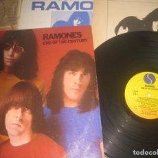 Discos de vinilo: RAMONES ?– END OF THE CENTURY -(VINYL 1980 SIRE ?) OG ESPAÑA ENCARTE. Lote 295913048