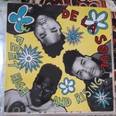 Discos de vinilo: DE LA SOUL- FEET HIGH AND RISING-EDICION ESPAÑOLA DE 1989-HIP HOP- RAP. Lote 295920828