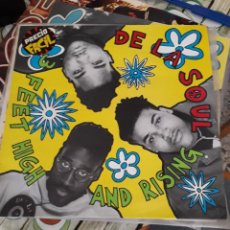 Discos de vinilo: DE LA SOUL- FEET HIGH AND RISING-EDICION ESPAÑOLA DE 1989-HIP HOP- RAP. Lote 295921268