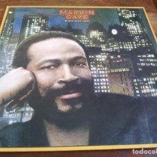 Discos de vinilo: MARVIN GAYE - MIDNIGHT LOVE - LP ORIGINAL CBS SONY ESPAÑA 1982 EN PERFECTO ESTADO. Lote 295924698