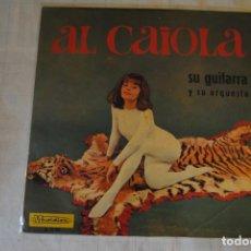 Discos de vinilo: AL CAIOLA Y SU GUITARRA. AMBIENTE CON. MARFER 1966. LP. RARO. Lote 295926288