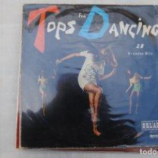 Discos de vinilo: TOPS FOR DANCING. LP 1967. Lote 295927363