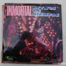 Discos de vinilo: INMORTAL RITMOS DE SIEMPRE. 1966. EKIPO LP. Lote 295933133