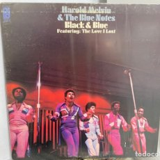 Discos de vinilo: HAROLD MELVIN & THE BLUE NOTES - BLACK & BLUE (LP, ALBUM) (1973/US). Lote 295933173