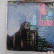 Discos de vinilo: HITS PARA EL RECUERDO. EKIPO 1968. LP. Lote 295933513