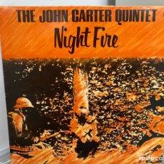 Discos de vinilo: JOHN CARTER QUINTET - NIGHT FIRE (LP, ALBUM) (1981/IT). Lote 295934118