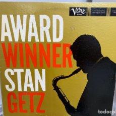 Discos de vinilo: STAN GETZ - AWARD WINNER (LP, ALBUM, MONO) (1980/JAPÓN). Lote 295934418