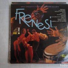 Discos de vinilo: FRENESI. ORQUESTA ARMANDO ZULUETA. 1967 LP. Lote 295934628