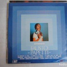 Discos de vinilo: FAUSTO PAPETTI . LP EKIPO 1970. Lote 295935188