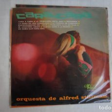 Discos de vinilo: CARA A CARA. ORQUESTA ALFRED STILLMAN. LP EKIPO 1967. Lote 295935953
