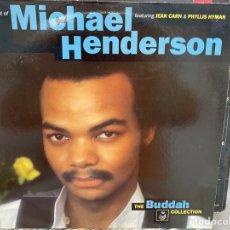Discos de vinilo: MICHAEL HENDERSON - THE BEST OF MICHAEL HENDERSON (LP, COMP) (1990/UK). Lote 295938203