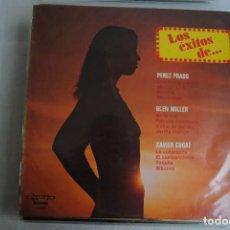 Discos de vinilo: LOS EXITOS DE PEREZ PRADO. GLENN MILERR, CUGAT. OLYMPO 1976. Lote 295938363