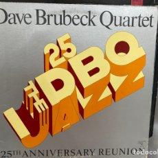 Discos de vinilo: DAVE BRUBECK QUARTET - 25TH ANNIVERSARY REUNION (LP, ALBUM, GAT) (1976/US). Lote 295938563