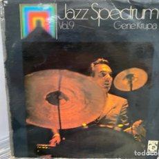 Discos de vinilo: GENE KRUPA - JAZZ SPECTRUM VOL. 9 (LP, COMP). Lote 295939218