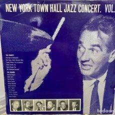 Discos de vinilo: NEW YORK TOWN HALL JAZZ CONCERT VOL 1 (LP, ALBUM). Lote 295942738