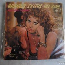 Discos de vinilo: GRANDES EXITOS DEL CINE VOL.5 SOFIA LOREN 1975. OLYMPO. Lote 295943783
