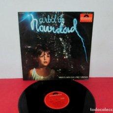 Discos de vinilo: ARBOL DE NAVIDAD - ORQUESTA SANTA CLAUS, COROS Y CAMPANADAS -LP- POLYDOR 1965 SPAIN. Lote 295972108