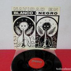 Discos de vinilo: NAVIDAD EN BLANCO Y NEGRO -PROMO IBERIA LINEAS AEREAS DE ESPAÑA -LP- REGSON 1970 TODA AMERICA LATINA. Lote 295976133