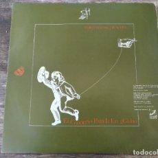 Discos de vinilo: MACROMASSA - EL CONCIERTO PARA IR EN GGLOBO ******** SUPER RARO LP 1980 BUEN ESTADO. Lote 295980688