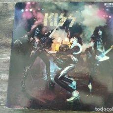 Discos de vinilo: KISS - ALIVE! ******** RARO LP DOBLE GATEFOLD NEERLANDÉS 1980 BUEN ESTADO!. Lote 295981923