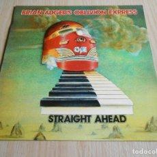 Discos de vinilo: BRIAN AUGER´S OBLIVION EXPRESS - STRAIGHT AHEAD -, LP, BEGINNING AGAIN + 4, AÑO 1974. Lote 295982083