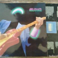Discos de vinilo: DIRE STRAITS - MONEY FOR NOTHING ******** LP ESPAÑOL 1988. Lote 295982088
