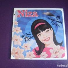 Discos de vinilo: NIZA - EP ELEFANT 1999 - VINILO AZUL - FIRMADO EN PORTADA POR DOS DE SUS MIEMBROS - POP 90'S. Lote 295982548
