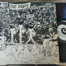 Discos de vinilo: THE POP'S - M/T **** RARO LP 60S ROCK BRASILEÑO MPB 1968. Lote 295983058