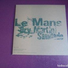 Discos de vinilo: LE MANS – DRY MARTINI - SG ELEFANT 1995 - SIN ESTRENAR - INDIE POP - LA BUENA VIDA - ETC. Lote 295983803
