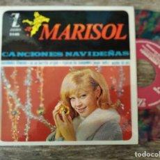 Discos de vinilo: MARISOL - CANCIONES NAVIDEÑAS **** RARO EP ESPAÑOL VINILO COLOR 1964 BUEN ESTADO. Lote 295984838