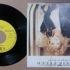 Discos de vinilo: BONNIE TYLER / HIDE YOUR HEART / SINGLE 7 PULGADAS. Lote 295985123