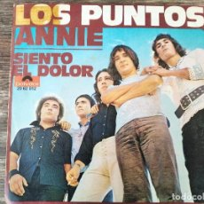 Discos de vinilo: LOS PUNTOS - ANNIE **** RARO SINGLE 1970. Lote 295985358
