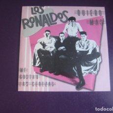 Discos de vinilo: LOS RONALDOS – QUIERO MAS/ ME GUSTAN LAS CEREZAS - SG EMI1987 - MALASAÑA ROCK 80'S - COQUE MALLA. Lote 295985438