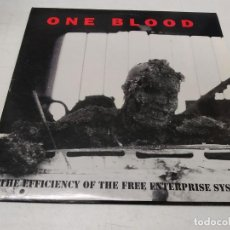 Discos de vinilo: ONE BLOOD-BUILDING A WORLD OF PROSPERITY WITH...THE EFFICIENCY OF THE FREE ENTERPRISE SYSTEM (. Lote 296000888